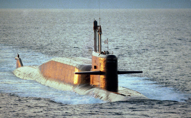 Project 667BDRM SSBN (NATO reporting name: Delta-IV)