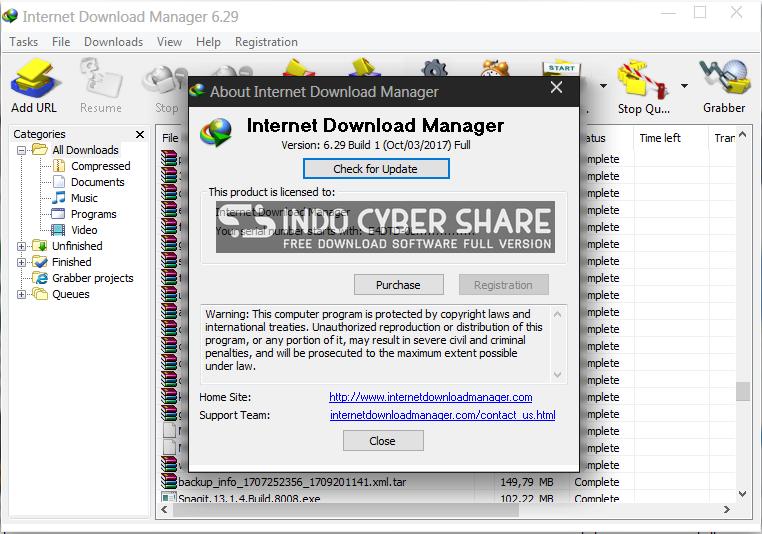 Internet Download Manager Registration