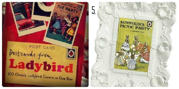 Classic Ladybird Postcards