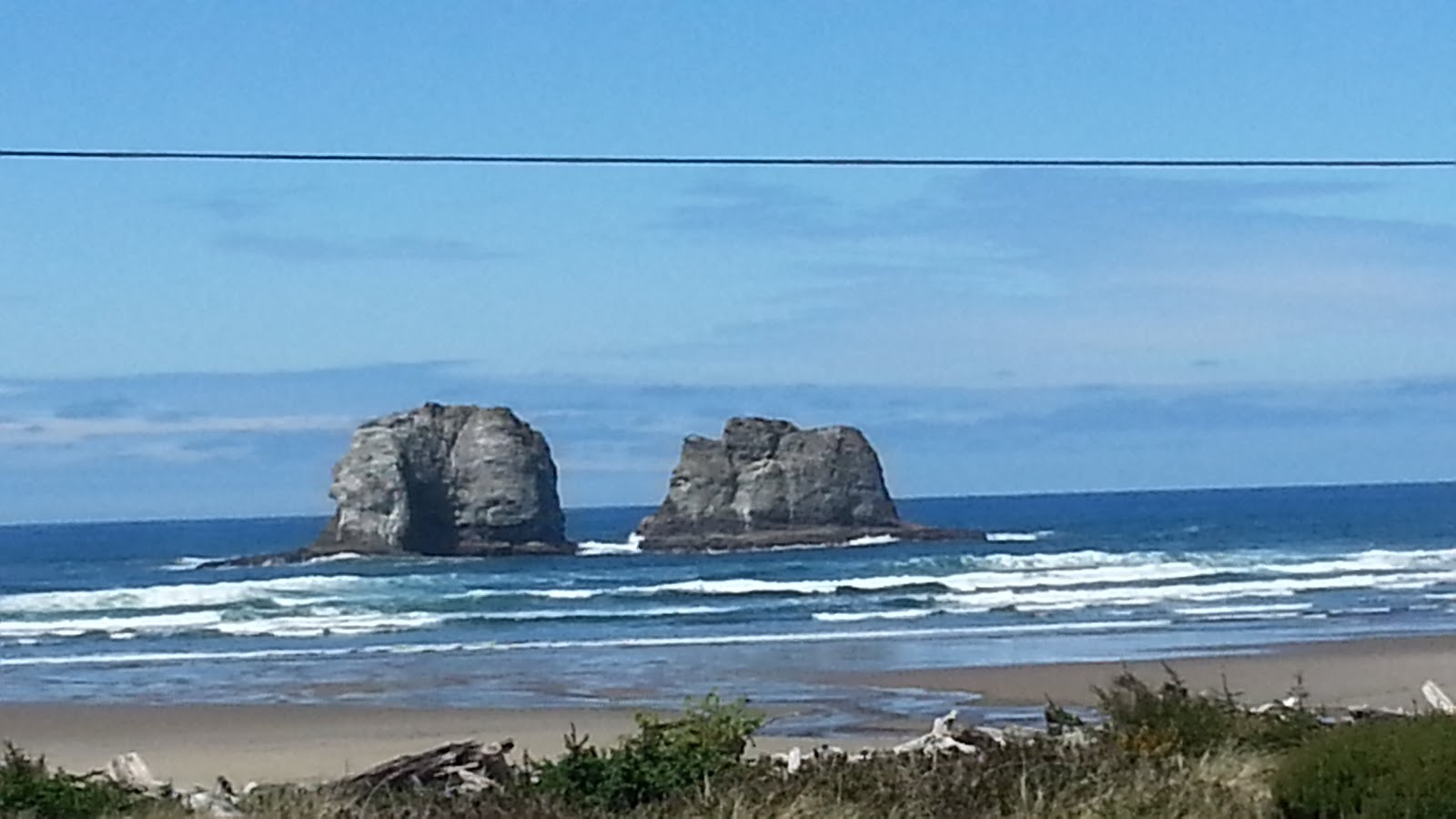 Twin Rocks Rockaway Beach, Oregon