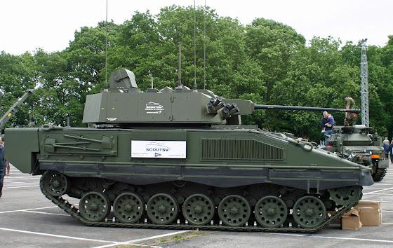 Scout specialist tank