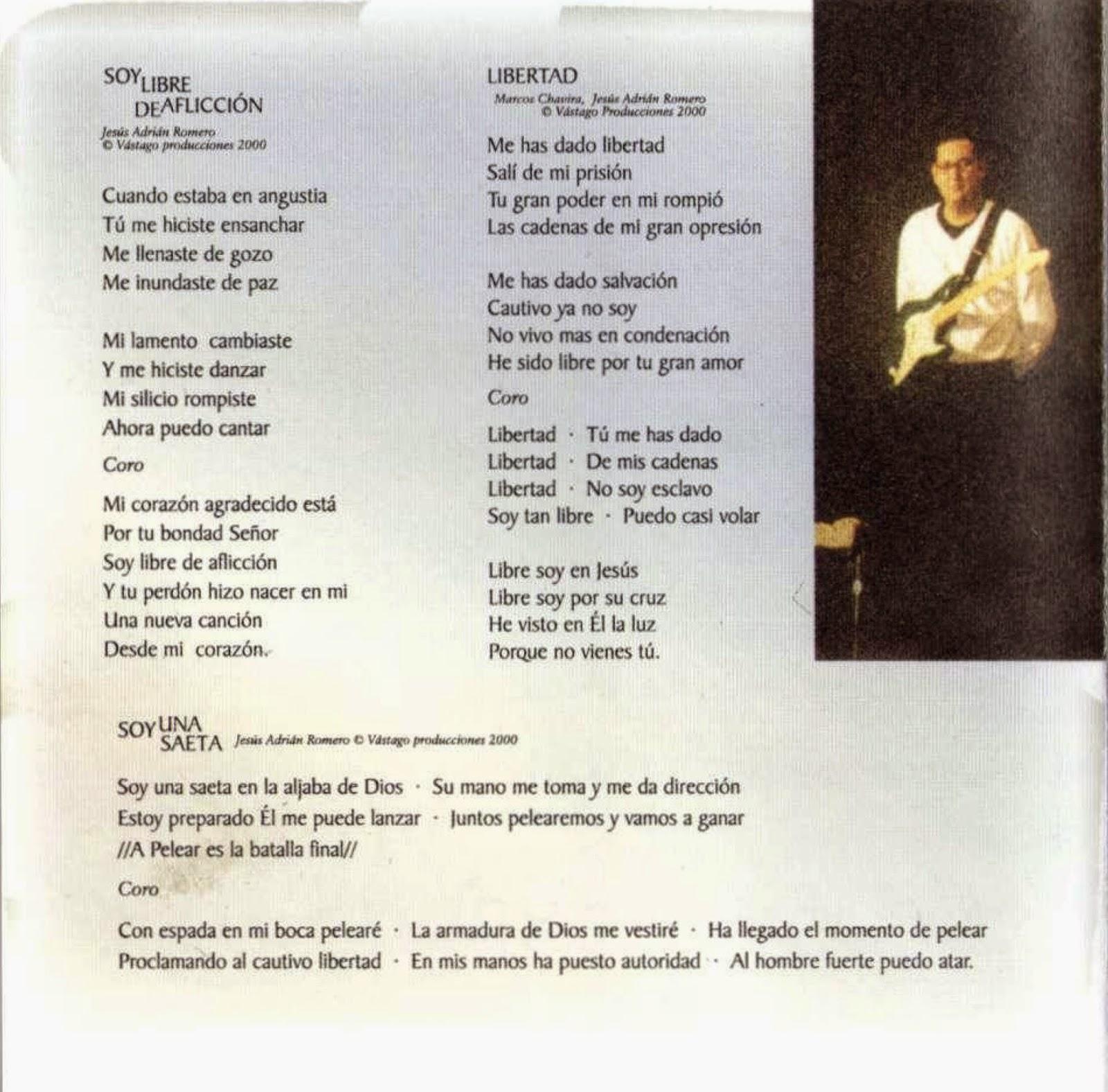 REBOSA MI CORAZÓN - Jesús Adrián Romero - letras.com