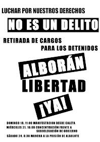 Libertad para Alborán ya...