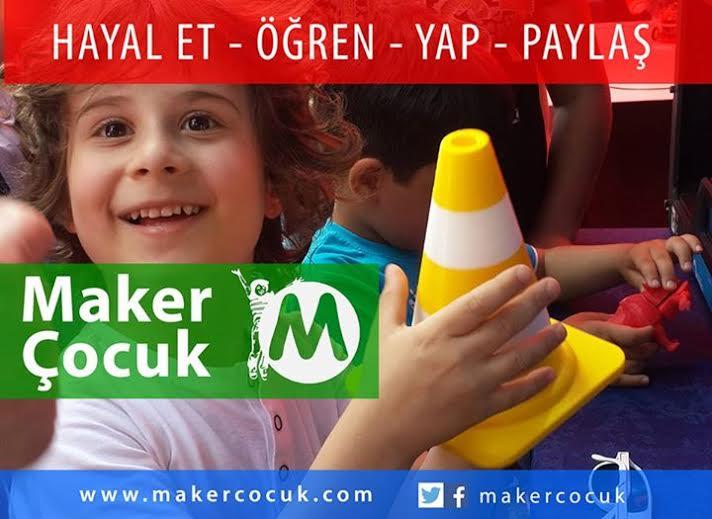 Maker Çocuk: 7-17 Yaş İçin Yeni Eğitim