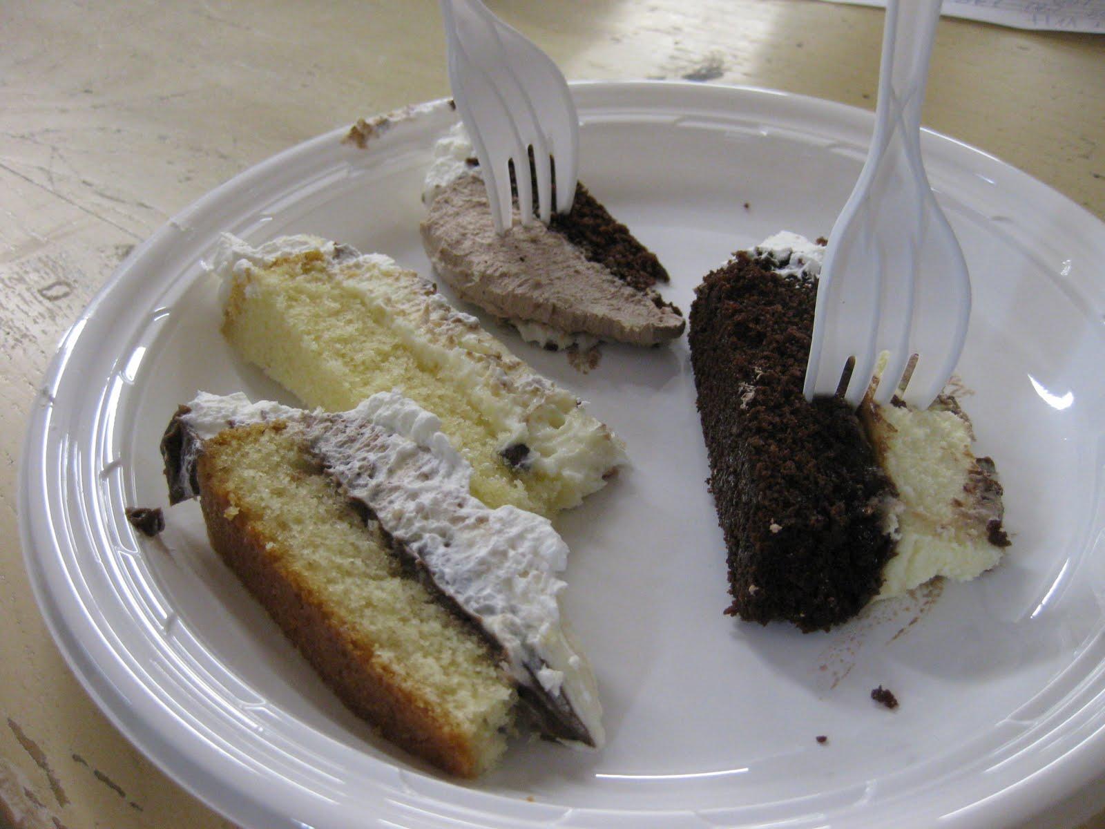 Dinner At Christina S Wedding Cake Tasting