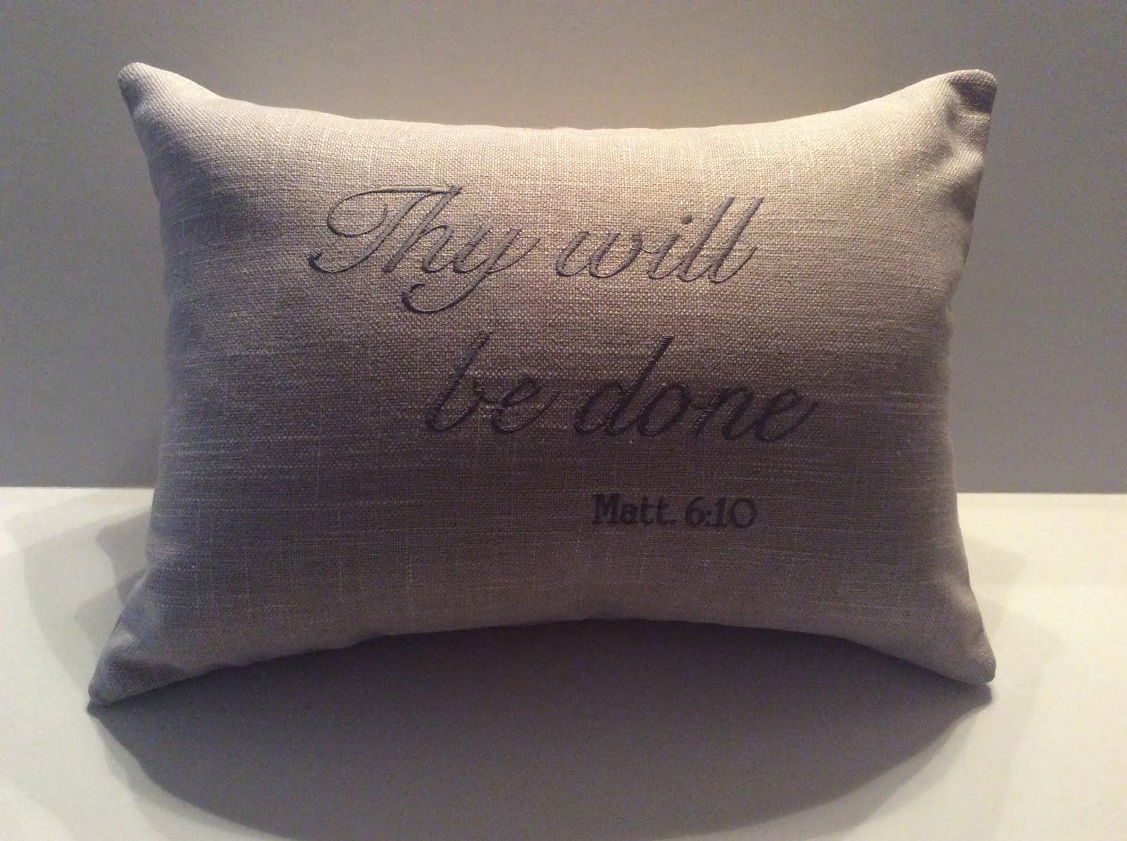 Matt. 6:10 - Natural Linen