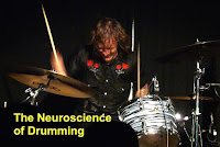 The neuroscience of drumming image