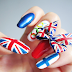 London 2012 Olympic Nails + Tutorial