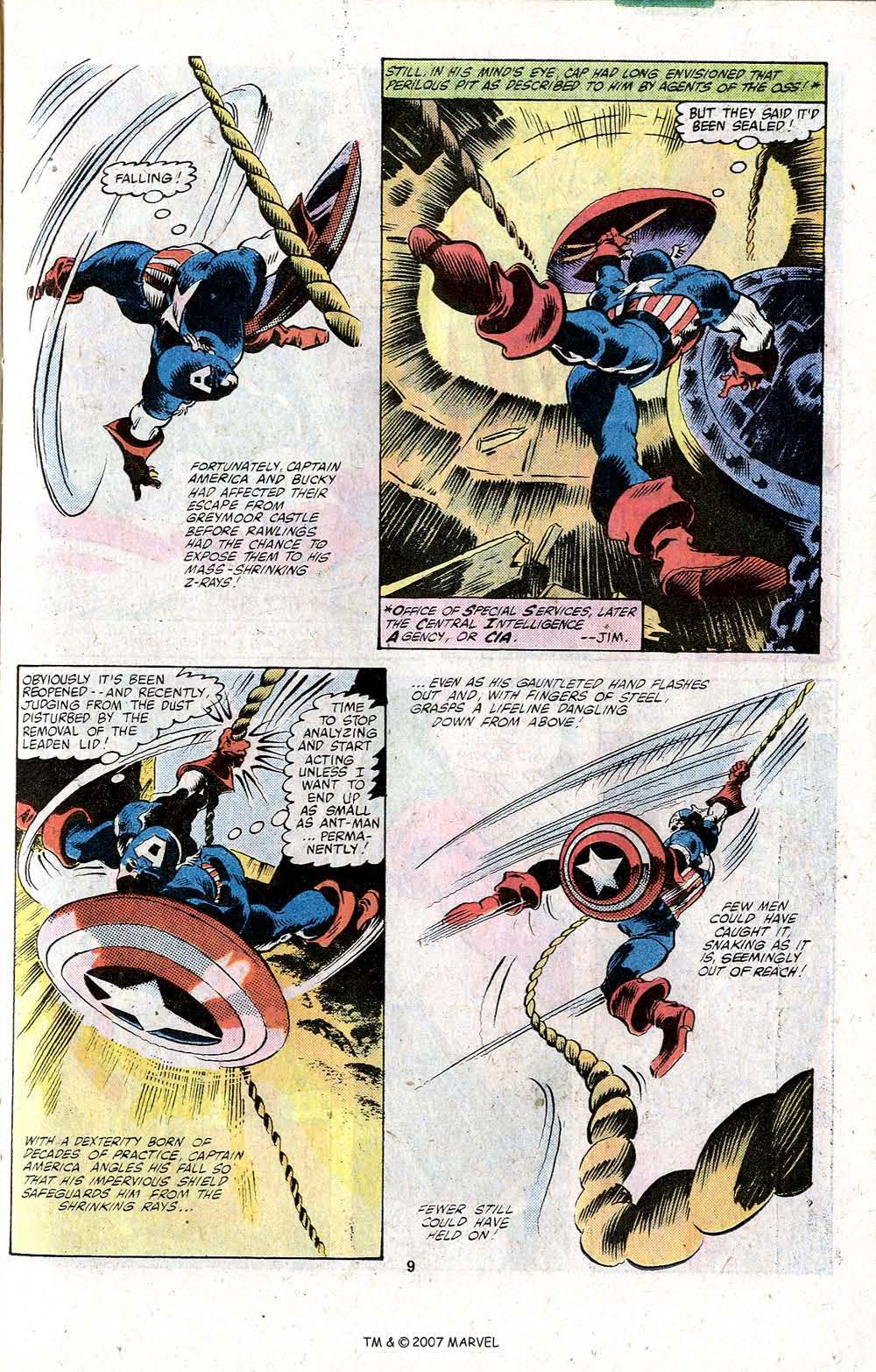 Captain America (1968) Issue #256 #171 - English 11