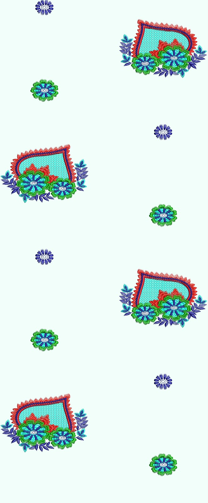 Embdesigntube bath towel designs by mohammad aamir for Bathroom embroidery designs