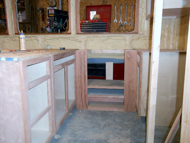 All The Cabinets And Wood Work On Board The Boat Is American Black Cherry.  Trees For The Lumber Were Cut Off Of My Property, And Milled By Neighbor  Carl ...