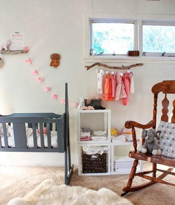 quarto neutro - opções de berço - novas tendências - enxoval de bebê - berço cinza