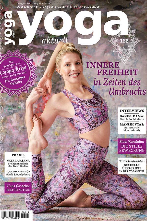 My articles in<br>Yoga Aktuell Magazine:<br>Die Sex und Spiritualität Illusion<br>Yoga Aktuell 122