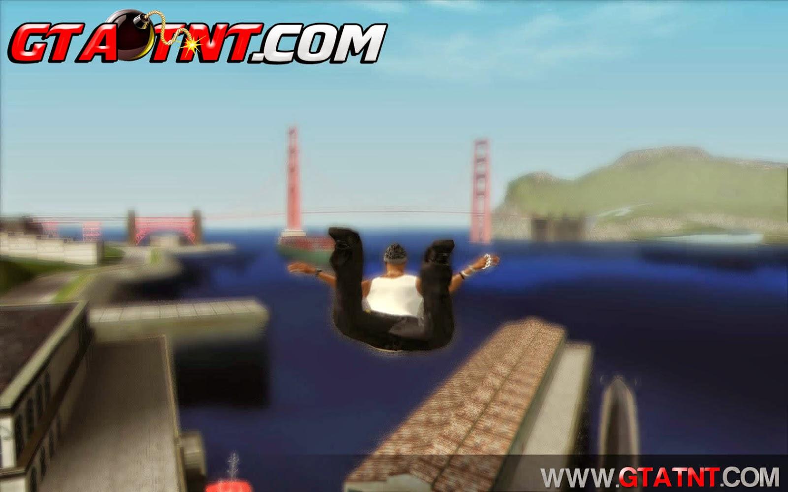 Mod Flutuar para GTA San Andreas