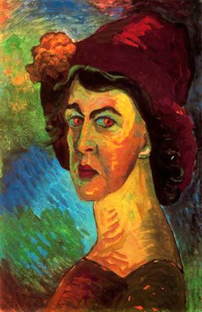 Marianne von Werefkin, auto-portrait, 1910