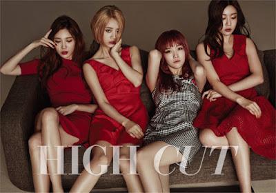 Girl's Day - High Cut Magazine Vol.149