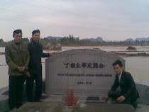 Hữu Chiến, Hữu Thắng, Hữu Bảo Nam về tảo mộ Đức Nhị Tiền Tổ
