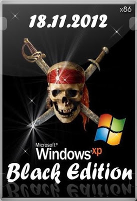 Windows XP SP3 Black Edition (32 bit) integrated Nov 2012