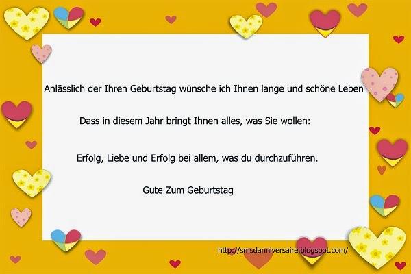 Sms D Amour 2018 Sms D Amour Message Message Anniversaire En Allemand