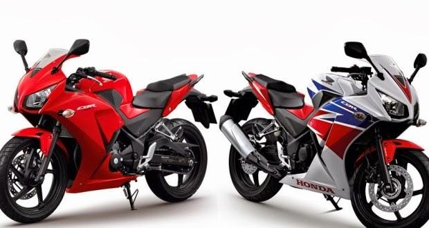 of Honda sport bike in the country . The new family of CBR New Honda