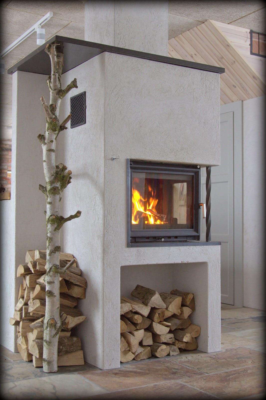 Det är mysigt att elda!   Villa Natura