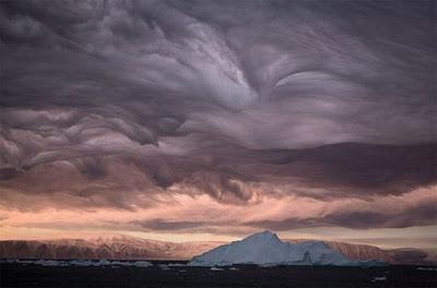 Subhanallah! Gambar Awan Seram Di Langit