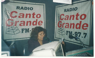 Betty Ramos en Radio Canto Grande