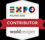 Siamo Contributor di Expo worldrecipes, il ricettario globale di Expo Milano 2015!
