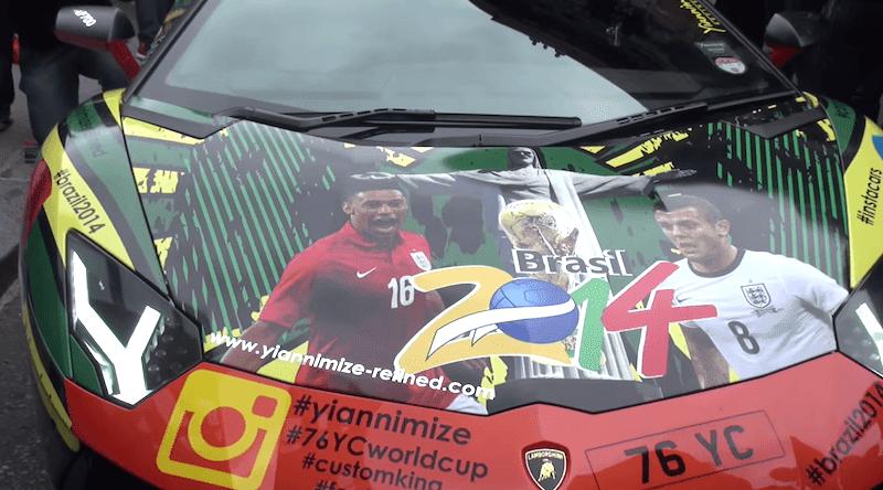 ランボルギーニ サッカー ワールドカップ