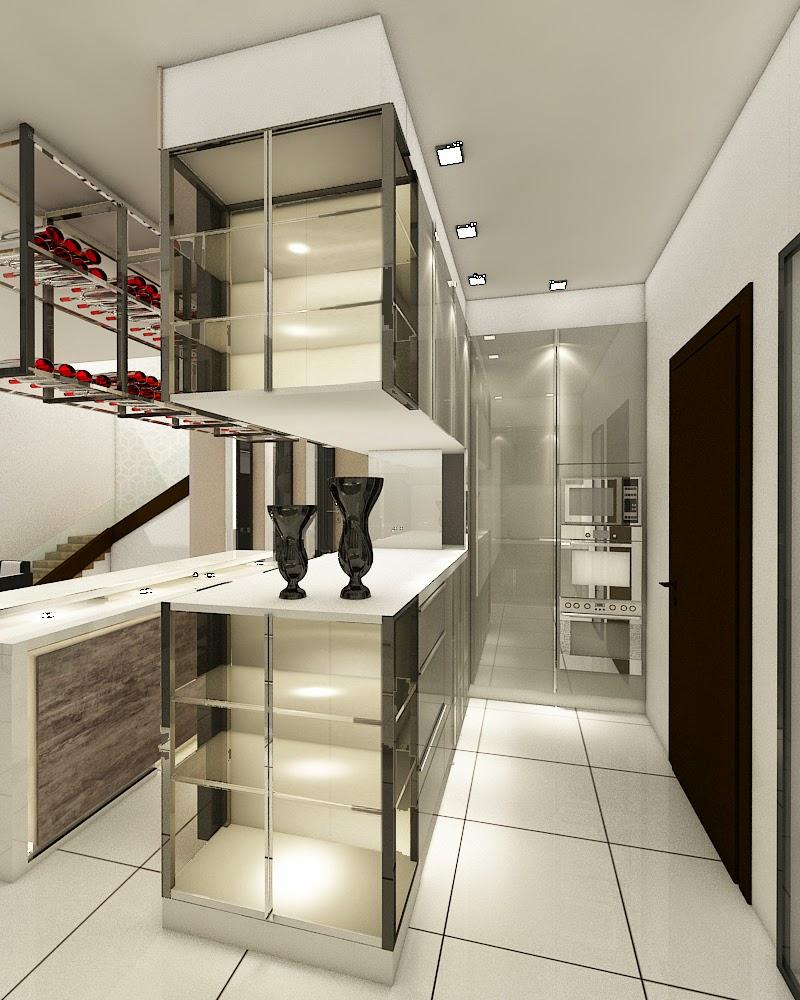 Dry Kitchen Open Concept Design