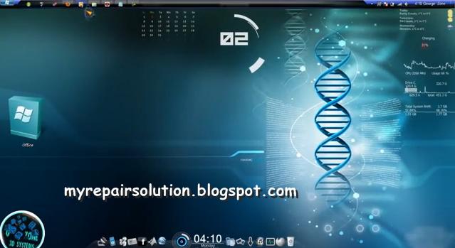 Merubah Tampilan Background Login Screen Windows7   Solusi ...