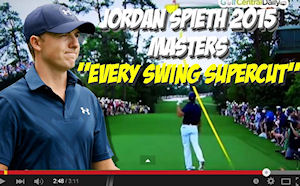 Video: Jordan Spieth 2015 Masters Supercut