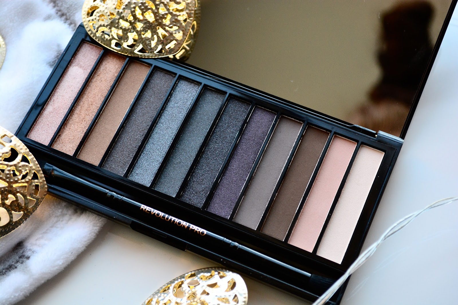 Makeup Revolution Iconic Smokey Palette, Eyeshadows, Smokey Eye, Palette, Christmas, Blogmas
