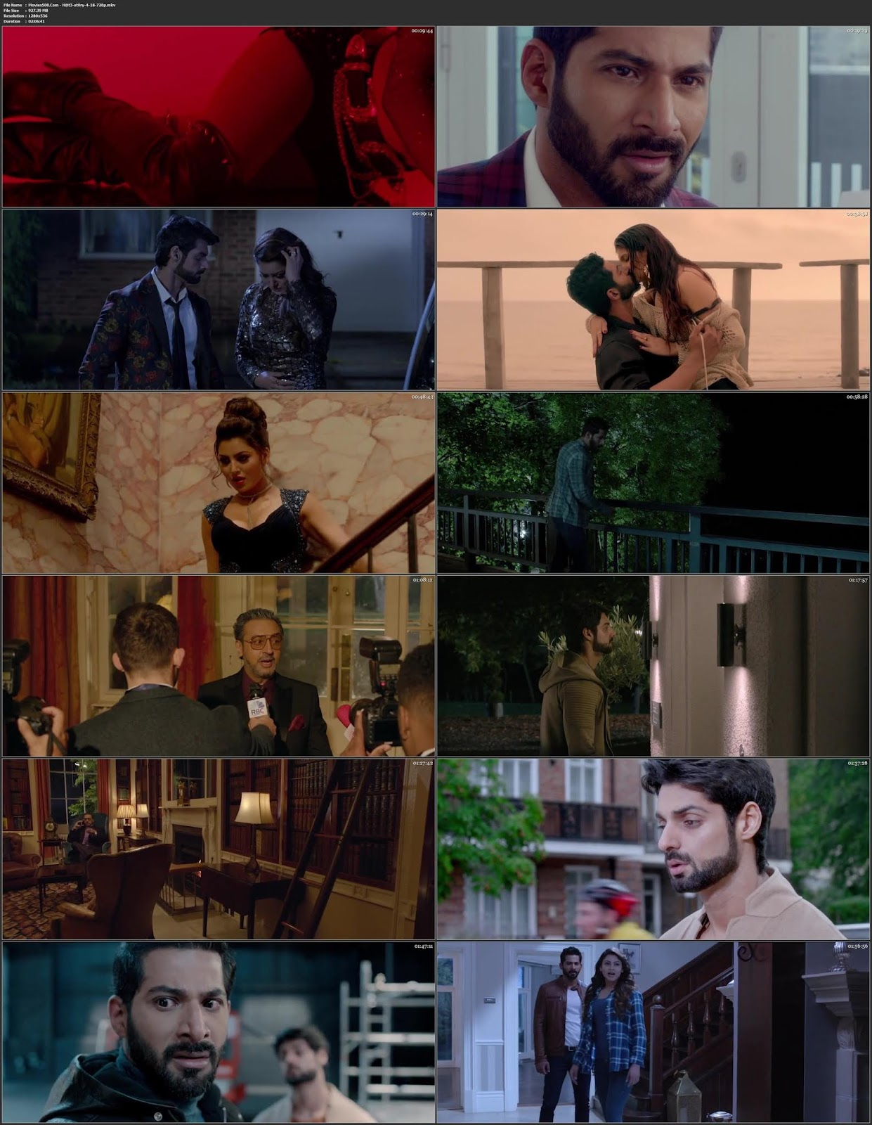 Hate Story 4 2018 Bollywood Hindi HDRip 480p