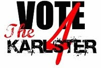 """Vote 4 The Karlster"" T-Shirts"