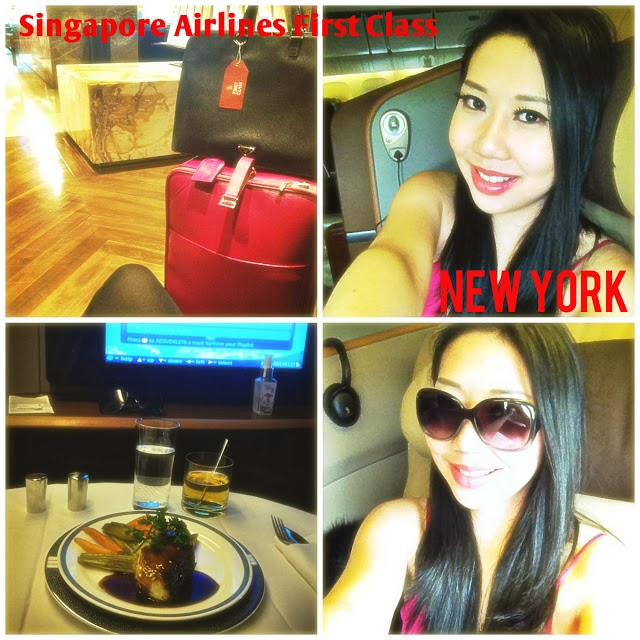 Singapore Airlines First Class Travel to New York City