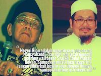 Pengelihatan Mata Bathin Gus Dur Terhadap KH. Tengku Zulkarnain