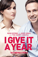 i give it a year rose byrne rafe spall poster