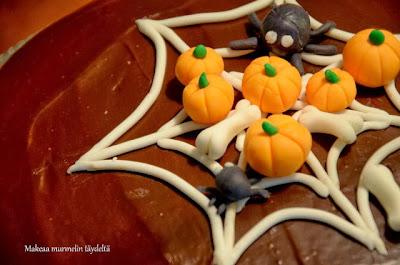 hämähäkin seitti kakku
