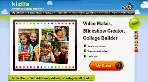 Membuat Video Foto Slideshow Online