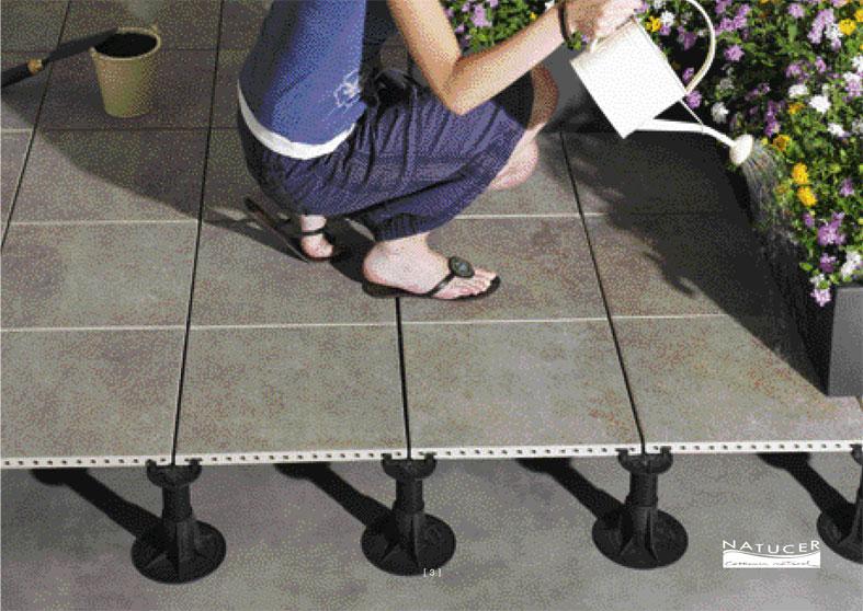 Como realizar o colocar suelos flotantes o tarimas - Suelos para terrazas exteriores ...