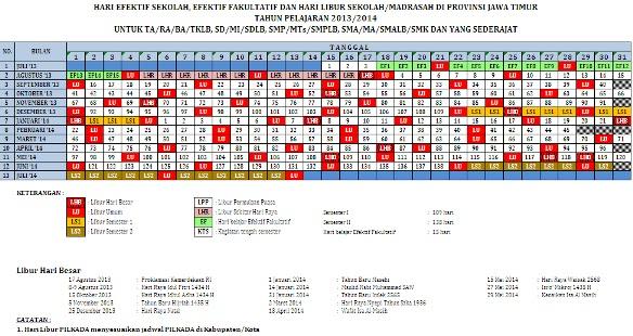 download kalender pendidikan 2014 jawa timur
