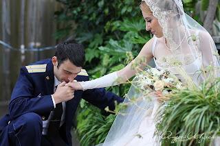 Свадебная фотосъемка в оранжерее.