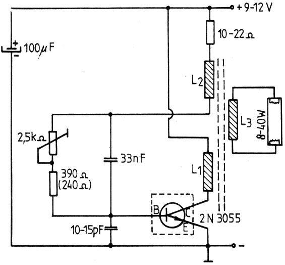 electronic board  convertizor penru lampi fluorescente 8