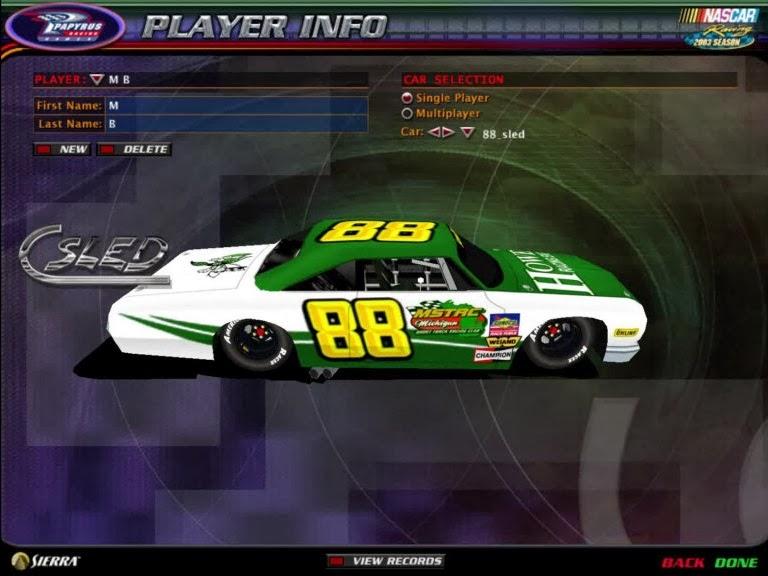 NR2003 Hobby Stock Mod