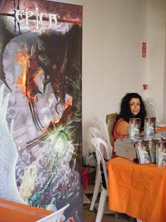 ªRU-MOR en el stand de ÉPICA: Edades Oscuras en el Festival de Juegos de Córdoba 2011