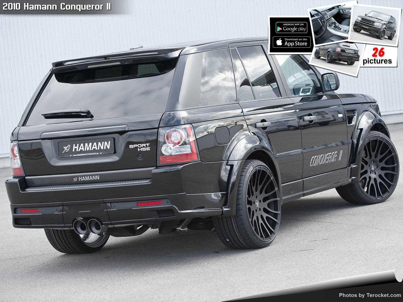 Hình ảnh xe ô tô Hamann Conqueror II 2010 & nội ngoại thất