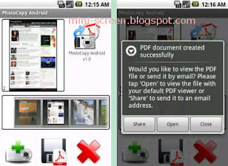 Wizcode Photocopy Android App Interface Makes Phone a Photo Copy Machine