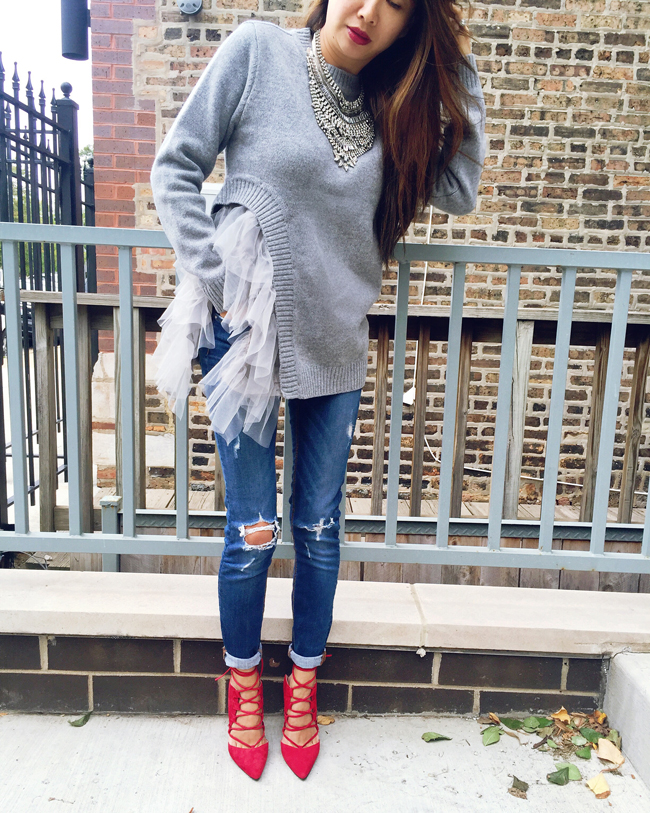Red Soles and Red Wine - Chicago Fashion Style Blog: Red Shoes ...