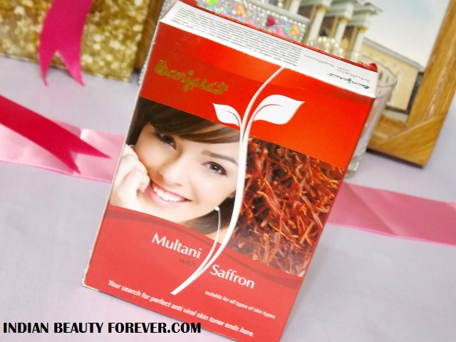 Banjara Multani with Saffron face pack Review price
